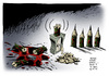 Cartoon: Attentat Charlie Hebdo Paris (small) by Schwarwel tagged attentat,charlie,hebdo,paris,anschlag,satiremagazin,tote,karikatur,schwarwel