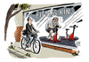 Cartoon: Fitnesscenter Zuwachs (small) by Schwarwel tagged fitness,fitnesscenter,sport,kondition,mitglieder,zuwachs,karikatur,schwarwel