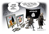 Cartoon: IS Terror Hinrichtungsvideos (small) by Schwarwel tagged is,terror,hinrichtungsvideos,hinrichtung,terrorist,mord,tot,tod,titanic,islamischer,staat,gewalt,miliz,terrormiliz,exekution,karikatur,schwarwel
