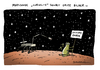 Cartoon: Marssonde (small) by Schwarwel tagged mars,marssonde,sonde,amerika,us,forscher,forschung,landung,planet,curiosity,occupy,earth,erde,karikatur,schwarwel