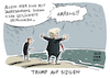 Cartoon: Trump auf Sizilien (small) by Schwarwel tagged donald,trump,us,usa,amerika,president,präsident,auslandsreise,sizilien,g7,gipfel,flüchtlinge,geflüchtete,karikatur,schwarwel