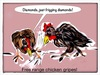 Cartoon: chicken feed (small) by Toonopia tagged chickens