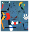 Cartoon: holy miro (small) by edda von sinnen tagged great,dead,artists,on,bicycles,joan,miro,catalan,surrealism,edda,von,sinnen,zenundsenf,illustration,cartoon,caricature,composing,series