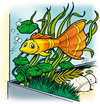 Cartoon: Guppy (small) by Comiczeichner tagged guppy,fisch,aquarium