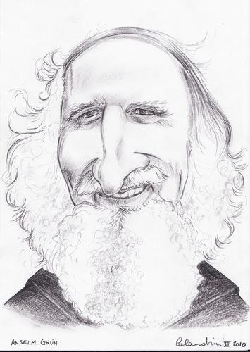 Anselm Grun Von Davide Calandrini Religion Cartoon Toonpool