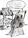 Cartoon: workaholic (small) by bob tagged tod,eis,eismann,arbeit,urlaub,ferien,gelati,bob,hack,sensenmann