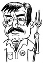 Cartoon: toon 30 (small) by kernunnos tagged dumb,fuck,with,pitchfork,duh,look,at,me,im,farmer,gahuck