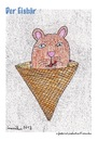 Cartoon: der eisbär (small) by meusikus tagged eis,bär,polar,gletscher,hitze,sommer,arktis,eisberg
