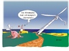 Cartoon: Möwe Emma und Konsorten (small) by Hösti tagged möwe,emma,robbi,willi,naturschutz,windparks,energie,hösti,cartoons,küste,ostfriesland