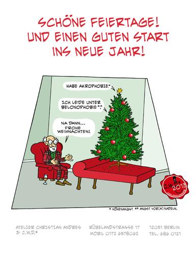 frohe weihnachten von jwd philosophie cartoon toonpool