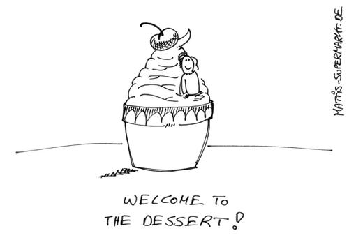 Dessert Von Matti Medien Kultur Cartoon Toonpool