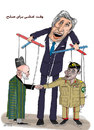 Cartoon: afghanistan and pakistan for...- (small) by Shahid Atiq tagged 0165
