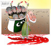Cartoon: Afghanistan terror attack ! (small) by Afghancartoon tagged afghanistan,balkh,helmand,kabul,attack