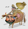 Cartoon: NATO and Atta Nur (small) by Shahid Atiq tagged 0193