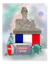 Cartoon: Pasteur Stopped Producing ! (small) by Shahid Atiq tagged france