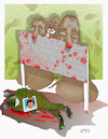 Cartoon: Terror attack in Balkh! (small) by Afghancartoon tagged afghanistan,balkh,helmand,kabul,attack