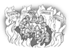 Cartoon: idle talk (small) by gonopolsky tagged europe,crisis