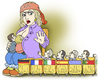 Cartoon: mother of many children (small) by gonopolsky tagged europe,crisis
