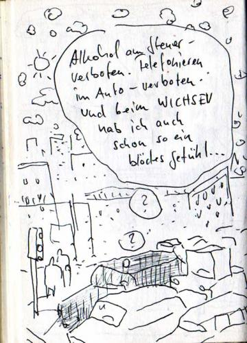 Cartoon: Alles verboten (medium) by Faxenwerk tagged auto,faxenwerk,holger,schmalfuß