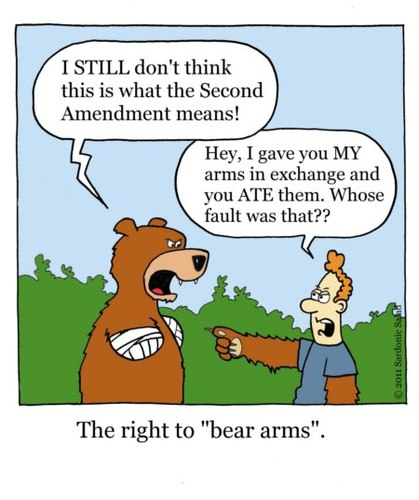 gun control and the right to bear arms in the united states There is an easy solution to america's arguments about gun control right to keep and bear arms in the gun debate, but would place the united states.