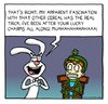 Cartoon: silly rabbit (small) by sardonic salad tagged trix,cartoon,comic,lucky,charms,cereal,sardonic,salad