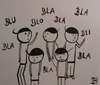 Cartoon: bla bla (small) by Hoii Di Mo Tri tagged bla