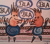Cartoon: Bla Bla bla Bla (small) by Hoii Di Mo Tri tagged bla