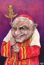 Cartoon: Benedetto XVI (small) by beto cartuns tagged unpop,pope,vatican