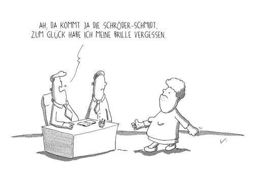 Brille Vergessen Von Schon Blod Wirtschaft Cartoon Toonpool