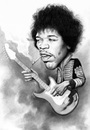Cartoon: Jimi Hendrix (small) by bpatric tagged jimi hendrix