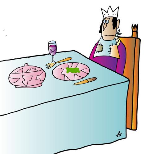 Cartoon: King (medium) by Alexei Talimonov tagged king