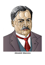 Cartoon: Alexandr Glazunov (small) by Alexei Talimonov tagged glazunov