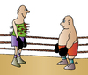 Cartoon: boxing (small) by Alexei Talimonov tagged boxing sport