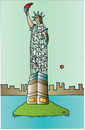 Cartoon: Freedom (small) by Alexei Talimonov tagged freedom