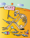 Cartoon: Help! (small) by Alexei Talimonov tagged vodka,alcohol,drinking,drugs
