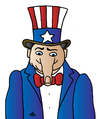 Cartoon: USA Man (small) by Alexei Talimonov tagged usa america