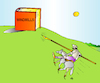 Cartoon: Windmills (small) by Alexei Talimonov tagged literature