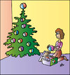 Cartoon: Xmas (small) by Alexei Talimonov tagged xmas christmas yoga