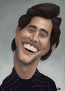 Cartoon: Jim Carrey caricature (small) by GRamirez tagged jim,carrey,caricature,caricatura,guillermo,ramirez