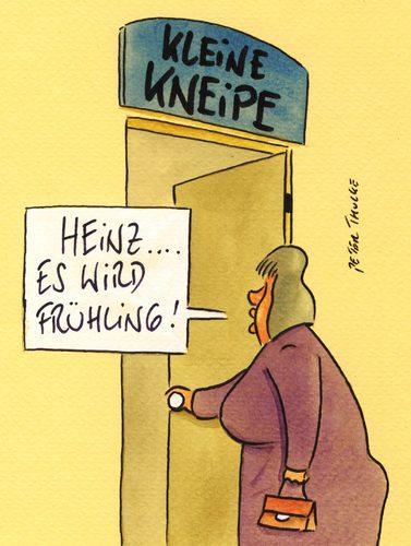 Cartoon frühling medium by peter thulke tagged frühling frühling