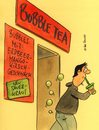 Cartoon: bubble tea (small) by Peter Thulke tagged bubble,tea
