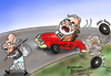 Cartoon: Modi (small) by mangalbibhuti tagged modi,advani,nda,jdu,shivsena,bjp,mangal,mangalbibhuti