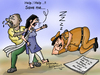 Cartoon: rape (small) by mangalbibhuti tagged rape,murder,mangalbibhuti,india,upa,manmohanshing,girl,indian,indianpolice,police