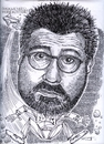 Cartoon: Kevin Smith (small) by Cartoons and Illustrations by Jim McDermott tagged movies caricatures actor action kevinsmith