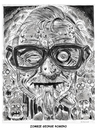 Cartoon: Zombie George Romero (small) by Cartoons and Illustrations by Jim McDermott tagged zombie,georgeromero,movies,horror,scarry