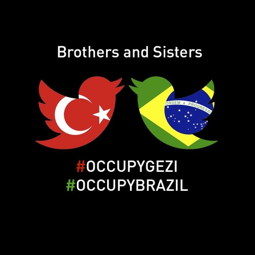 Cartoon: Brothers and Sisters (medium) by Political Comics tagged occupygezi,occupybrazil