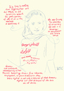 Cartoon: Noorjahan Akbar Portrait (small) by Political Comics tagged noorjahan,akbar,portrait