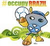 Cartoon: occupy brazil 04 (small) by Political Comics tagged occupy,brazil