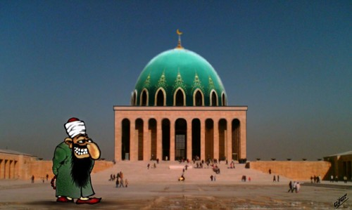 Cartoon: ANITKABIR (medium) by ugur demir tagged mmm