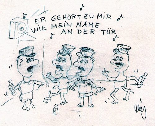 Cartoon: Kita in Berlin Schöneberg (medium) by ralphmeiling tagged berlin,schöneberg,gay,schwul,tanzen,party,kinder,kita,kindergarten